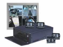 What are the main features of dh-bav1000 series of on-board hard disk video recording system