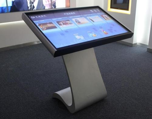 How does the touch screen work
