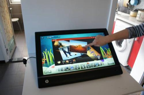 What is the concept of touch screen and what are its features